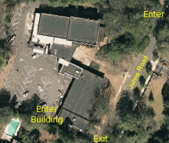 Overhead image of Synagogue